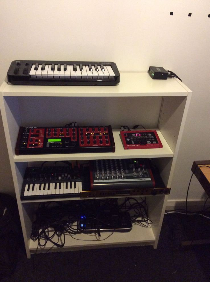 My Synth Shelf