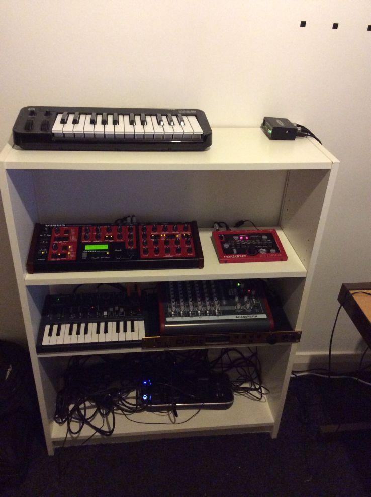 My Synth Shelf